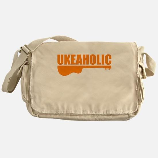 funny ukulele uke ukelele Messenger Bag