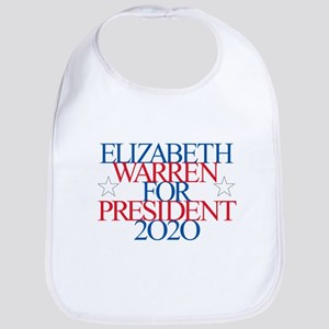 Elizabeth Warren for President 2020 Baby Bib