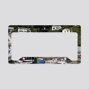 Polperro, Cornwall, England License Plate Holder