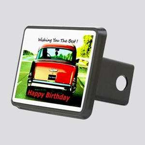 Wishing You The Best Birth Rectangular Hitch Cover