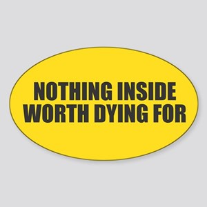 Nothing Inside Sticker