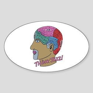 THINK JAZZ! Sticker