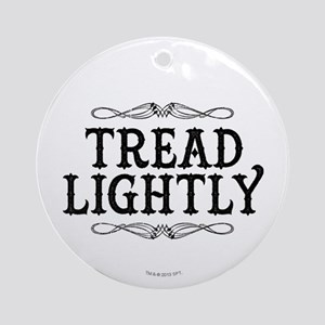 Breaking Bad: Tread Lightly Ornament (Round)
