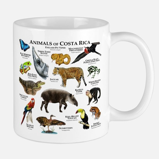 Costa Rica Animals Mug