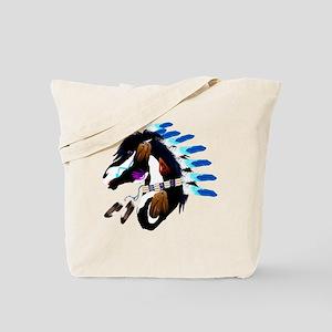 Spiritual Horse-no shield Tote Bag