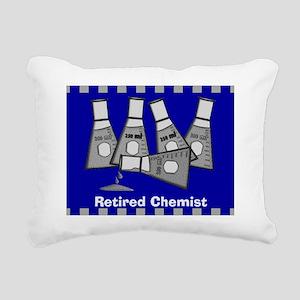 retired chemist 5 Rectangular Canvas Pillow