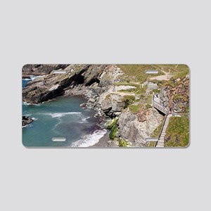 Tintagel Haven, Cornwall, E Aluminum License Plate