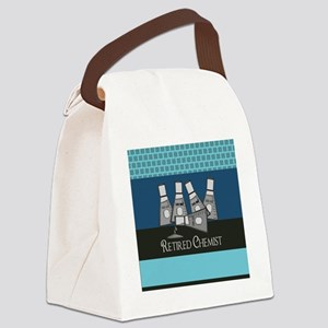 Retired Chemist 3 Canvas Lunch Bag