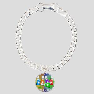Retired chemist blanket  Charm Bracelet, One Charm