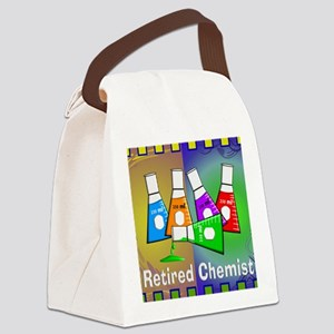 Retired chemist blanket 7 Canvas Lunch Bag