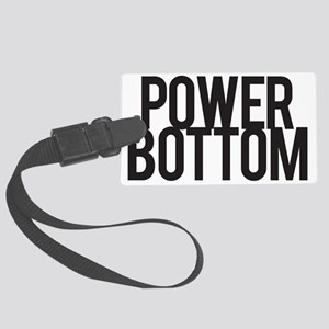 Power Bottom Large Luggage Tag