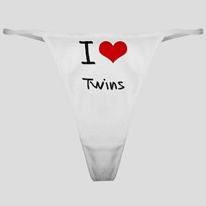 I love Twins Classic Thong