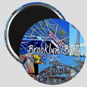 Coney Island Bklyn Baby Magnet
