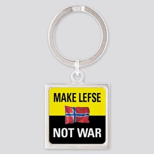 Make Lefse... Not War Keychain