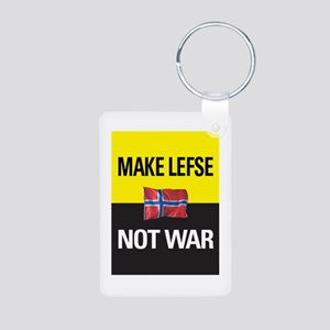 Make Lefse... Not War Key Chain