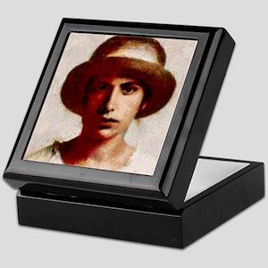 Female psychologist Anna Freud T-Shir Keepsake Box