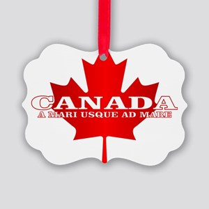 Canada (Sea to Sea) Picture Ornament