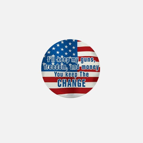 KEEP THE CHANGE Mini Button