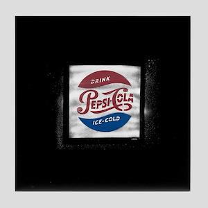 Pepsi-Cola Ice Cold Tile Coaster