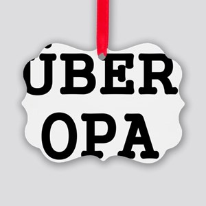 UBER OPA Picture Ornament