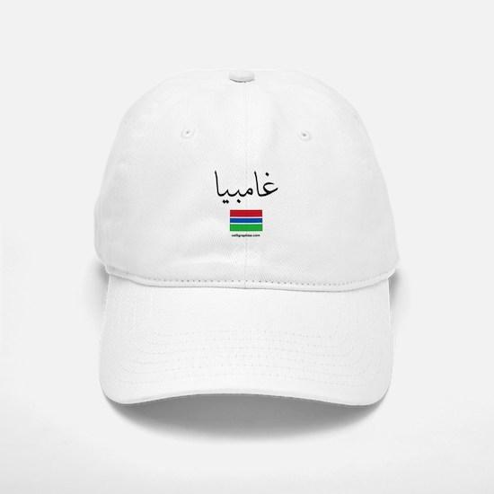 Gambia Flag Arabic Baseball Baseball Cap