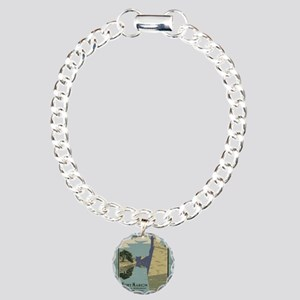 St. Augustine Spanish Fo Charm Bracelet, One Charm