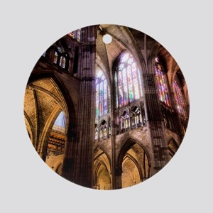 Catedral de Santa Maria de Regla de Round Ornament