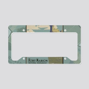 St. Augustine Spanish Fort Ma License Plate Holder