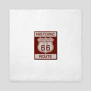 Santa Rosa Route 66 Queen Duvet