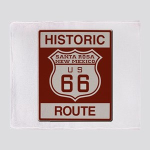 Santa Rosa Route 66 Throw Blanket