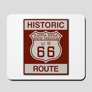 Santa Rosa Route 66 Mousepad