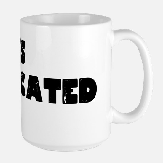 Its Complicated Large Mug