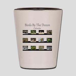 Birds By The Dozen Shot Glass