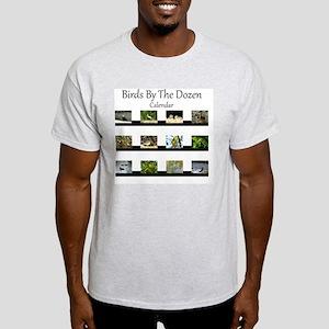 Birds By The Dozen Light T-Shirt