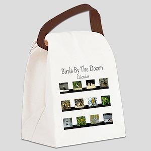 Birds By The Dozen Canvas Lunch Bag