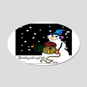 StashingThroughTheSnow Wall Decal