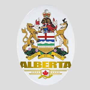 Alberta COA Oval Ornament
