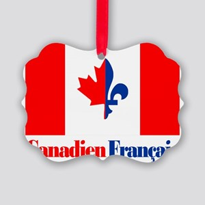 Canadien Francais 6 Picture Ornament