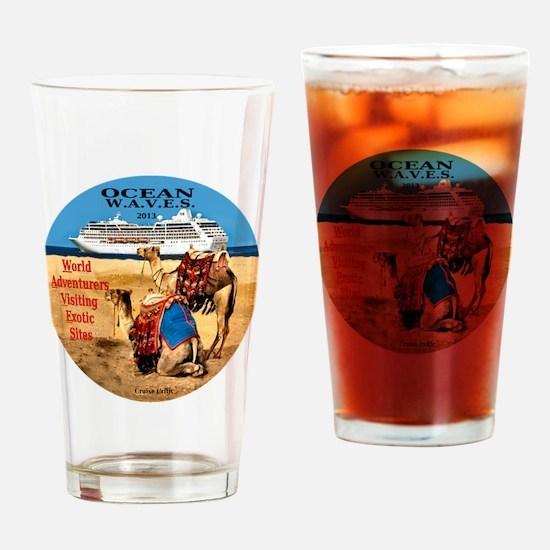 OCEAN W.A.V.E.S. 2013 Drinking Glass