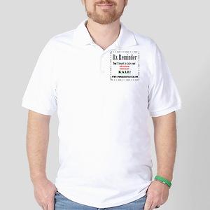 Rx Reminder Golf Shirt