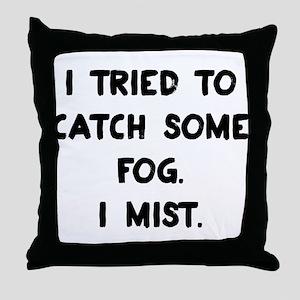 Weather Pun Throw Pillow