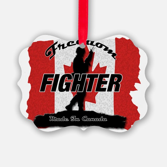 Canadian Freedom Fighter Ornament