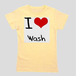 I love Wash Girl's Tee