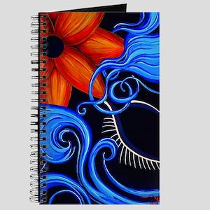 Divinity Mon Sun C Sensual Blue 16x20 275d Journal