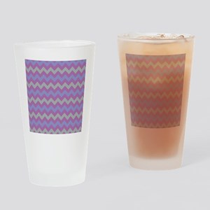 chevron pattern  Drinking Glass