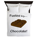 Fueled by Chocolate Queen Duvet