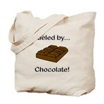 Fueled by Chocolate Tote Bag