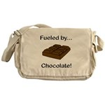 Fueled by Chocolate Messenger Bag