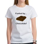 Fueled by Chocolate Women's T-Shirt