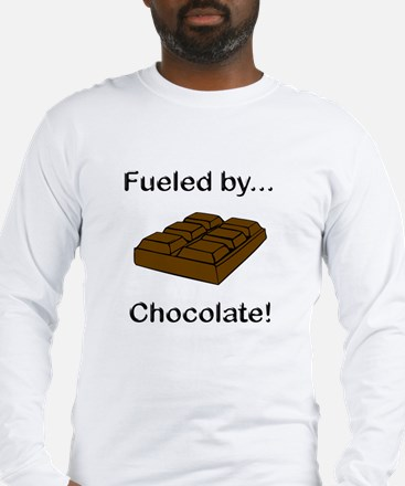 Fueled by Chocolate Long Sleeve T-Shirt